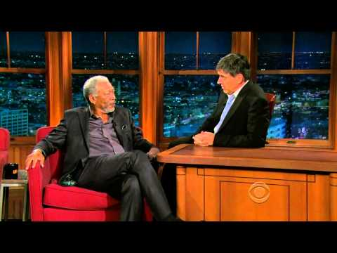 Late Late Show with Craig Ferguson 5/3/2010 Morgan Freeman, Kate Mara