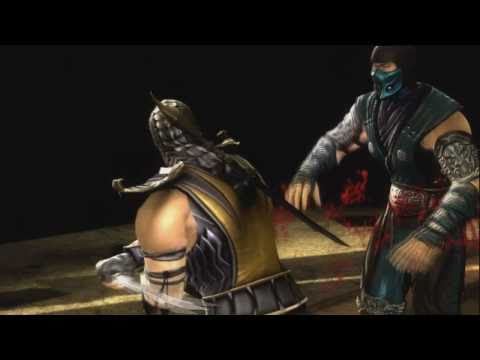 Mortal Kombat 9 - All Character Fatality Xbox360