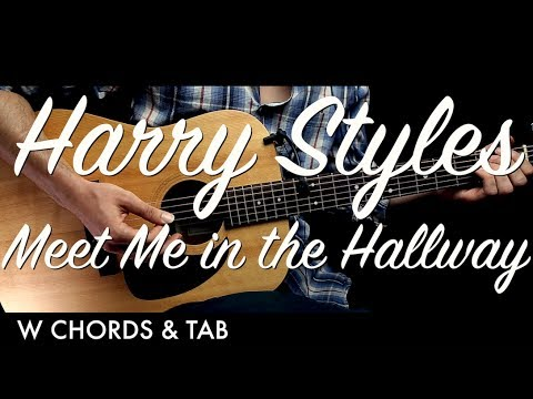 Harry Styles - Meet Me in the Hallway Guitar Tutorial Lesson w Chords & TAB / Guitar Cover