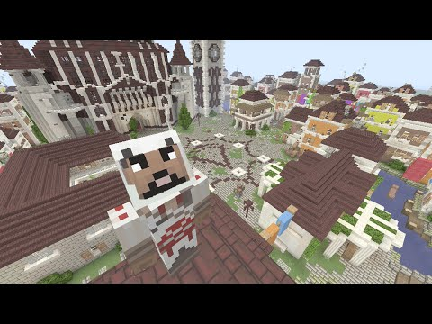 Minecraft (Xbox 360) - Assassins Creed - Hunger Games