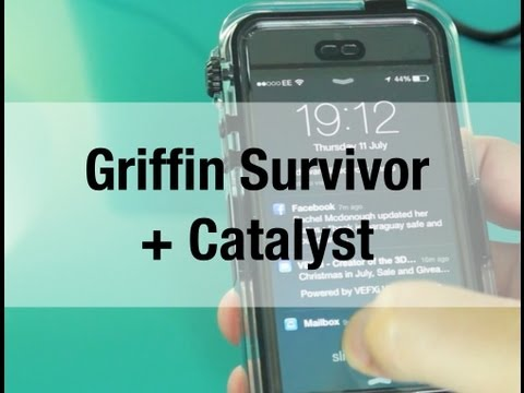 Griffin Survivor + Catalyst - Waterproof Case for iPhone 5