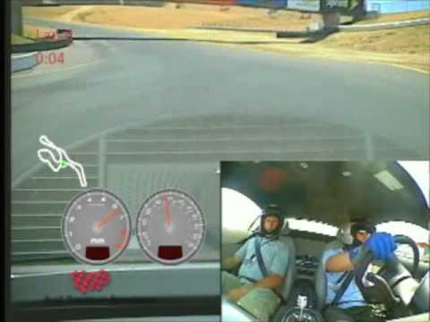 Two laps of Infineon Raceway in an Audi R8 road car during the Audi Sportscar Experience Video