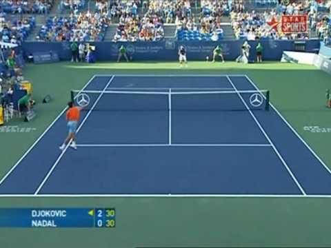 Djokovic vs Nadal Cincinnati Masters SF 2008