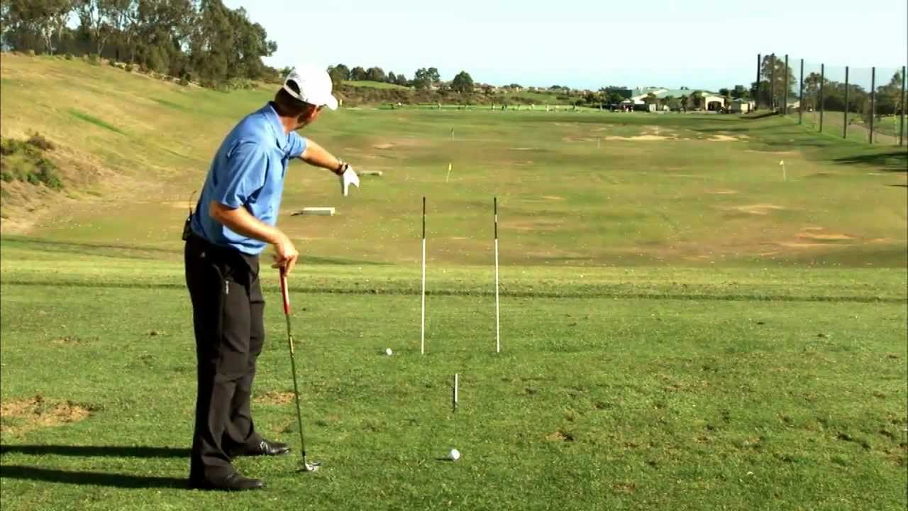 Golf Aiming Tips How To Use Golf Alignment Sticks To