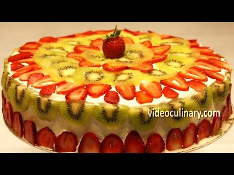 Ladyfinger cake recipe by videoculinary.com