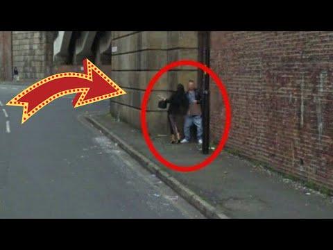 Caught On Google Street View : Couple Having Sex On Street, But Google Skipped From Street View video