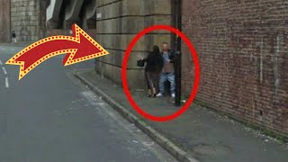 Public Sex Caught on Google Street view : Couple Having Sex on Street, But Google Skipped It now!