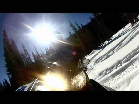 Snowmobiling GoPro. Grand Lake, CO.