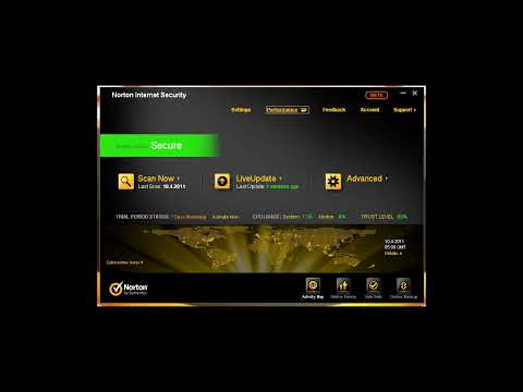 Norton Internet Security 2012 Beta (Installation & Interface)