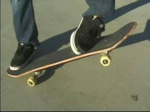 How to Do Skateboard Tricks : How to Frontside 180 on a Skateboard