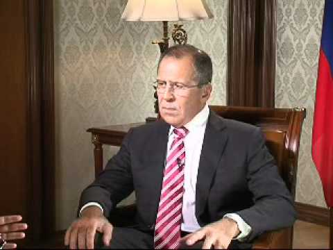 Sergey Lavrov talks to Fareed Zakaria