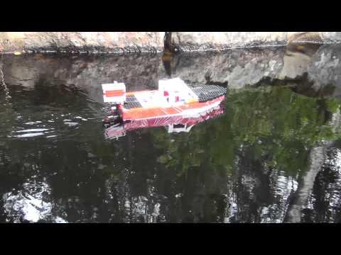 лодка лего техники видео