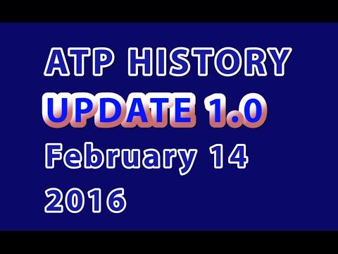 ATP Rankings History - Update no. 1 - February 14, 2016