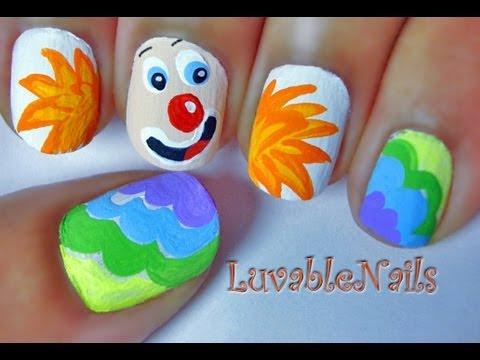 April Fool's Day nail art