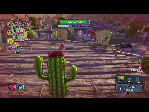 Plants vs Zombies Garden Warfare (Operaciones De Jardin) Gameplay En Español Xbox One