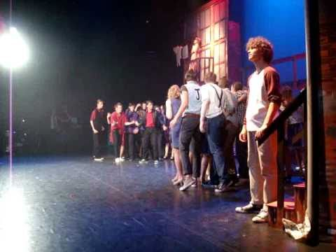 West Side Story in Theater de Maaspoort - West Side Story Valuascollege Venlo - Tonight (Backstage)