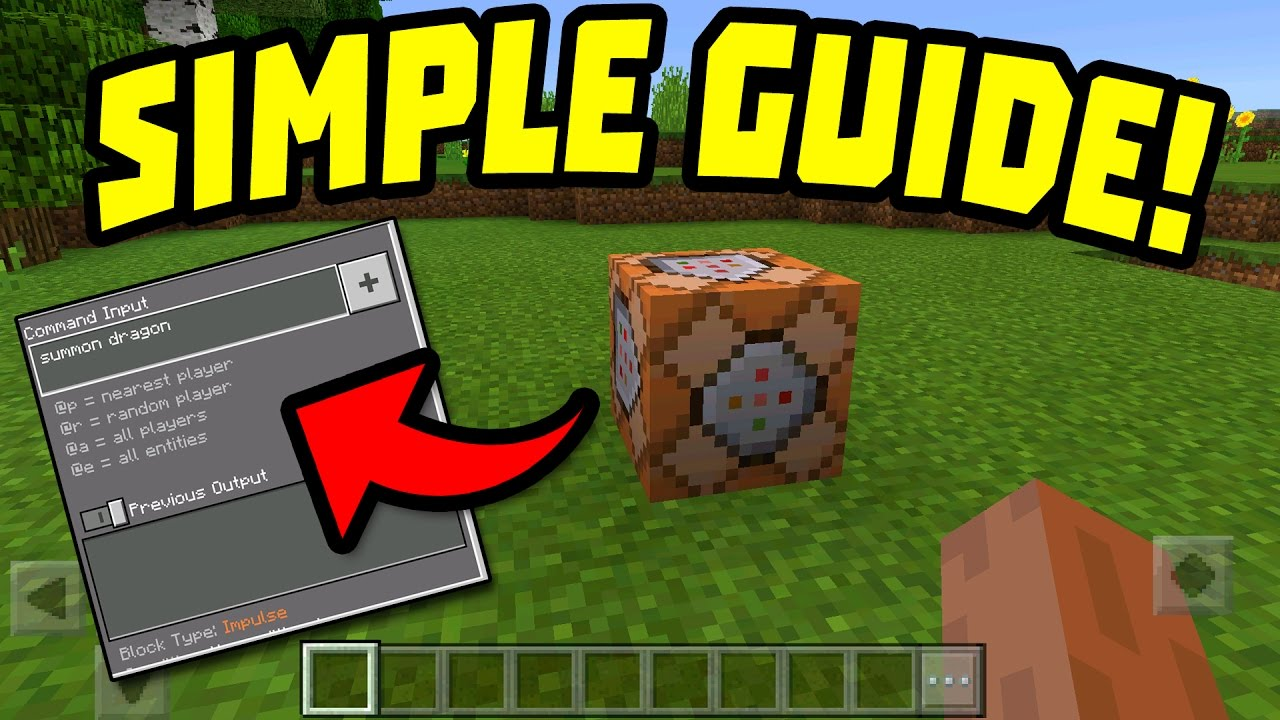 How to Use Command Blocks in Minecraft images