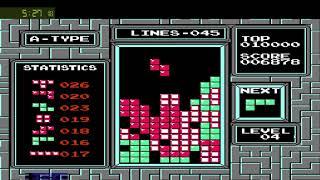 Tetris -  Lvl 0 Start - 100 lines - [9:51:45]
