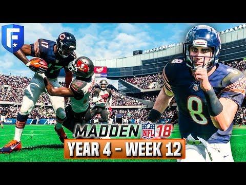 Madden 18 Bears Franchise Year 4 - Week 12 vs Buccaneers - Ep.71