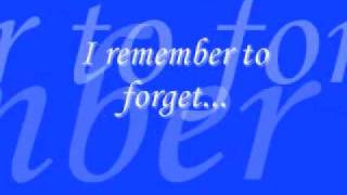 Watch Play Remember To Forget video