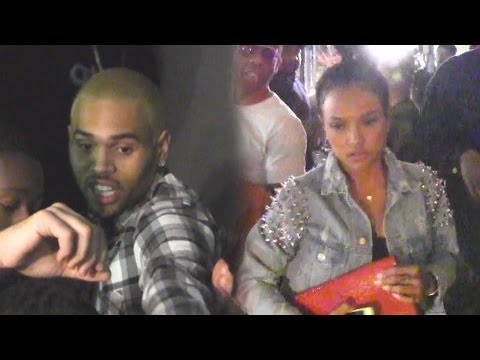 Chris Brown Celebrates His Birthday With Ex Karrueche Tran