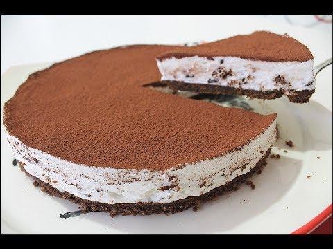 5 Dakikada Unsuz-Şekersiz-Yumurtasız EKONOMİK Pasta Tarifi