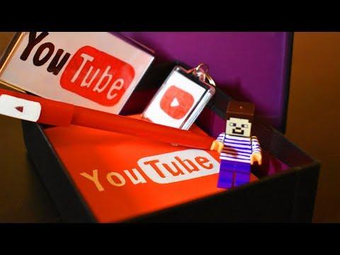 ПОДАРОК ЮТУБЕРУ! Как сделать подарочный набор YouTube! Мультик! Нубик Стив! Желейный медведь.