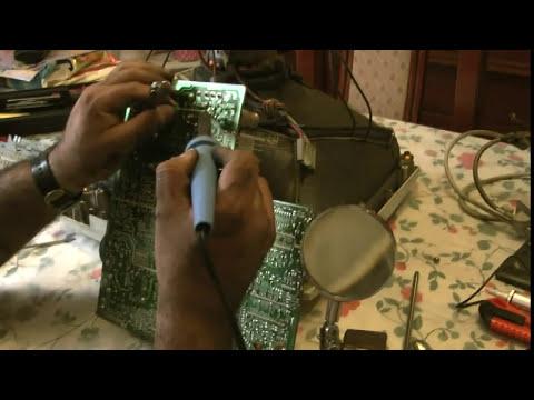 Reparaciones Domesticas - Reparando el Monitor de la Computadora - Analisis - Deteccion y Reparacion