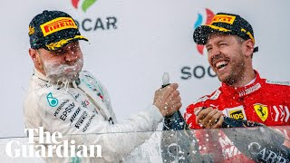 'So boring': Vettel on Mercedes' form after Bottas and Hamilton dominate in Azerbaijan