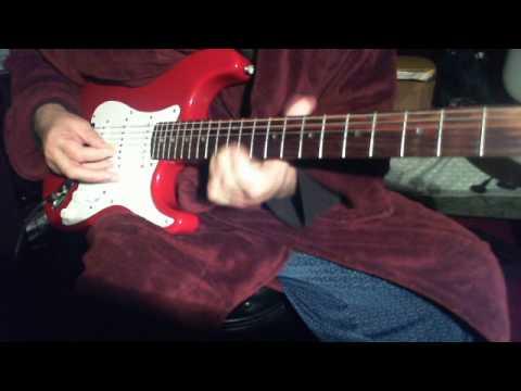 Rim  Jhim Gire Saawan on guitar