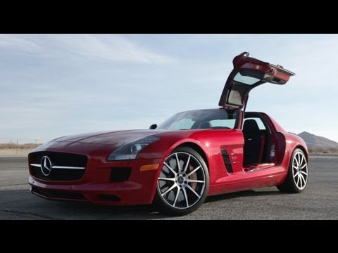 Drifting the 2013 Mercedes-Benz SLS AMG GT Coupe – CAR and DRIVER
