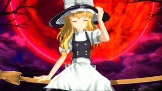 Touhou Azure Reflections - Marisa A (Lunatic, 1cc, no bombs, all spellcards captured)