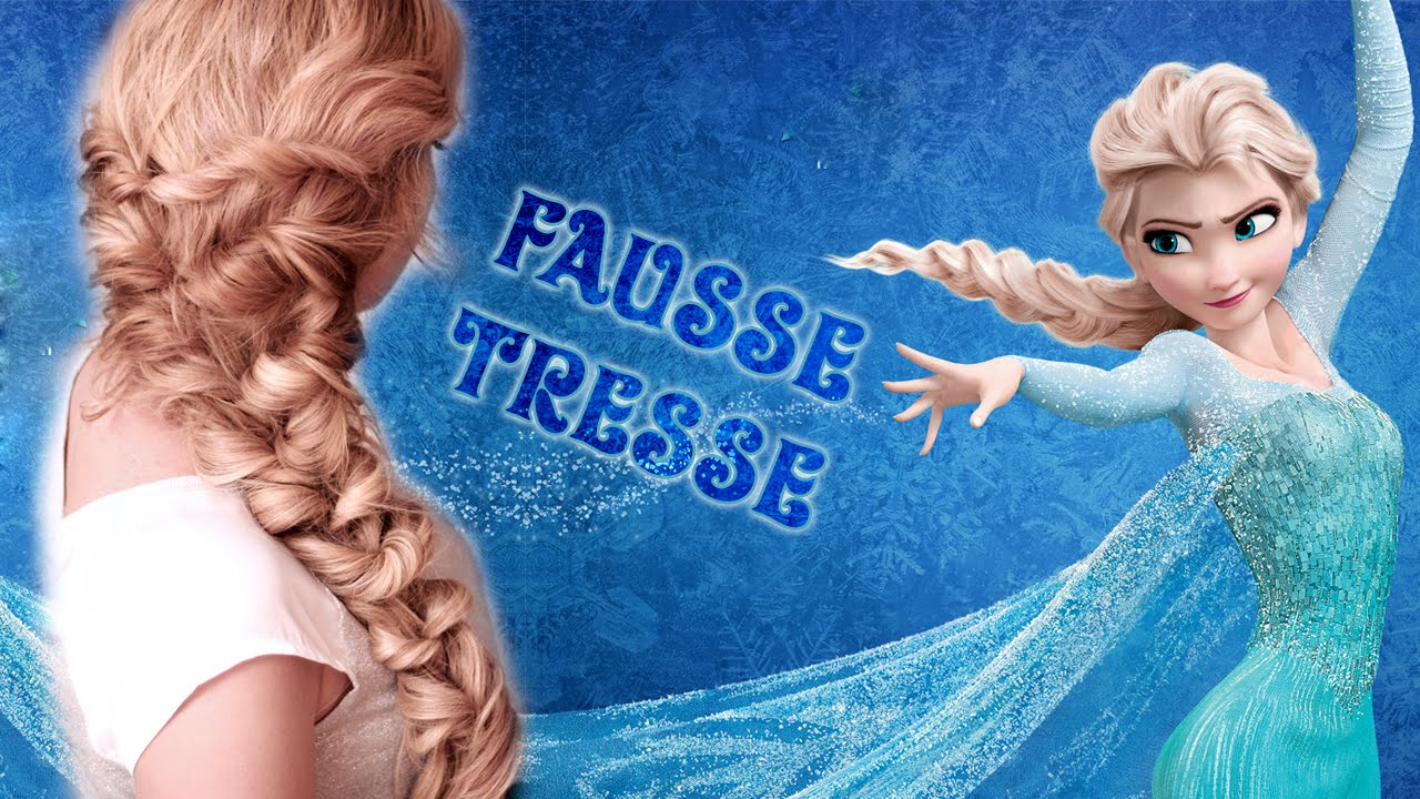 Tuto coiffure la elsa reine des neiges tresse facile - Image la reine des neiges elsa ...