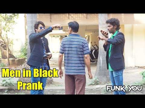 Men in Black Prank by Funk You (Prank in India) (English Subtitles)
