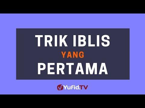 Trik Iblis yang Pertama – Poster Dakwah Yufid TV