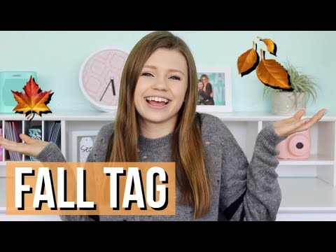 The Fall Tag - Fall Fashion, Favorite Starbucks Drink, Pumpkin Patches & More!