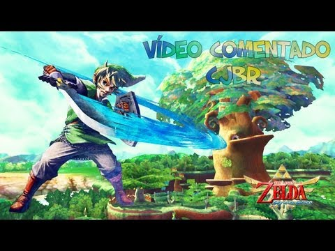 The Legend of Zelda: Skyward Sword - Nintendo Wii gameplay (Pt - Br)