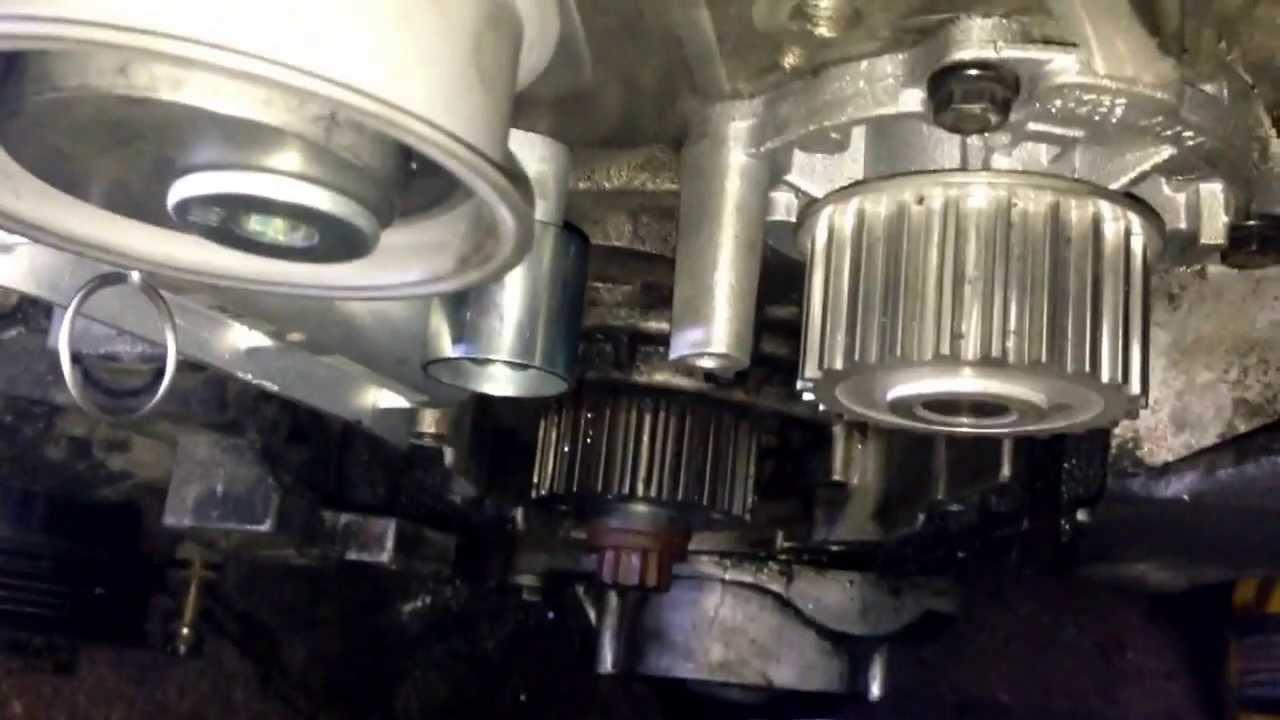Zahnriemen Wechsel Riemen Auflegen Beim Audi A4 A6 4b