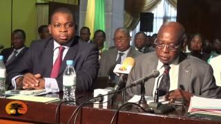 Le ministre Oteth AYASSOR satisfait du vote du projet de loi de finance rectificative gestion 2014