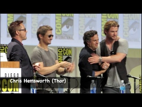 The Avengers 2 Cast Dance at Comic-Con 2014