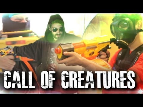 Call of Creature: Modern Nerf-War (Creature Short)