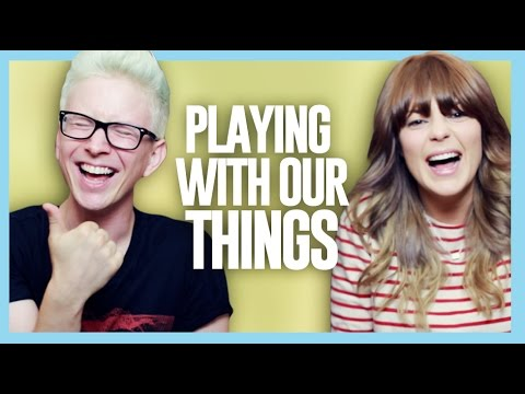 PLAYING WITH OUR THINGS (ft. Grace Helbig) | Tyler Oakley thumbnail