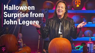 John Legere's Halloween Pumpkin Surprise for Verizon & AT&T | T-Mobile