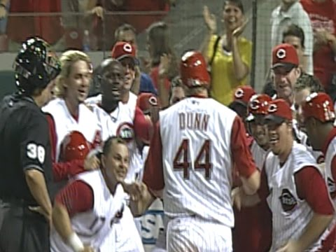 Adam Dunn's walk-off grand slam