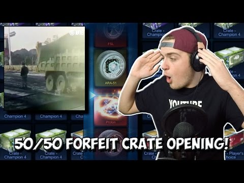 YOU ASKED FOR IT... | Rocket League FORFEIT Crate Opening - Reddit 50/50 Challenge