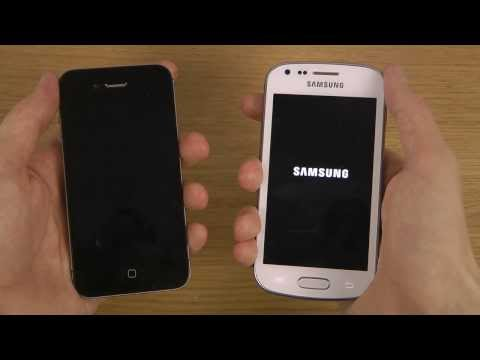 Samsung Galaxy Trend Plus vs. iPhone 4S iOS 7.0.4 - Which Is Faster?