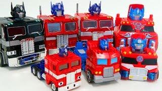 Transformers Convoy Optimus Prime Truck Vehicle Robot Car Toys 트랜스포머 옵티머스프라임 콘보이 장난감 로봇 변신 동영상