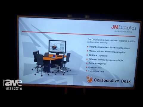 ISE 2016: JM Supplies Debuts Collaborative Desk