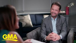 Jason Priestley talks about the 'vacancy' left by Luke Perry l GMA
