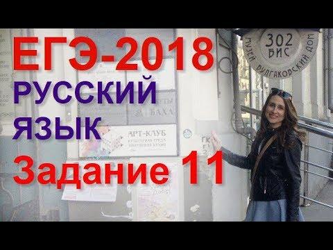 Готовимся к ЕГЭ по русскому языку. Задание 11